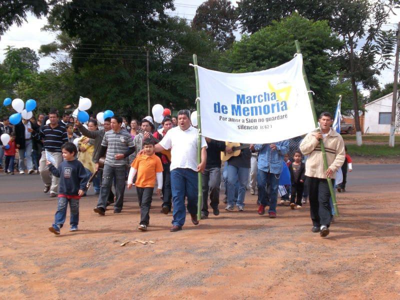 Marcha de La Vida Guayaibi